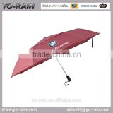 promotional umbrella with logo , golf umbrella with plastic cover double layer umbrella YR3698