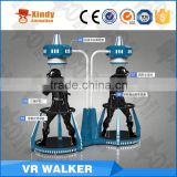 HTC VIVE headset theme park 9d cinema amusement ride CS game vr walker Virtual Reality 9D Cinema                                                                                                         Supplier's Choice