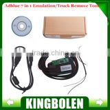 Adblue Emulation 7in1 Module Support Reprogram Erase Adblue Emulator 7In1 Volvo DAF MAN Iveco Renault trucks and etc