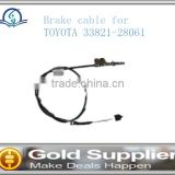 Brand New Brake cable for TOYOTA 33821-28061 with high quality and most competitive price.