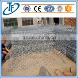 High Zinc Galvanized Gabion Boxes / PVC coated Gabion Baskets/ stone cage (direct factory)