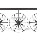 3 Wheels * 6 Lights industrial Bar and Kitchen Chandelier Lighting Innovative Design With Imagination