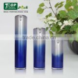 Skin Care Use and Acrylic Plastic Type Cosmetic Airless Pump Bottle for Serum 15ml 30ml 50ml