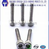 high quality customize hex knurled allen head bolts