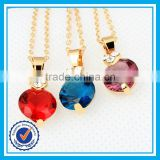 Factory direct cheap price crystal jewelry gold plated dubai costume jewelry