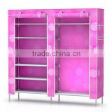 China manufacturer cheap hot price non-woven fabric display shoe rack/living room cabinets