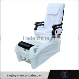 Sole surfing PU leather equipped 3 function adjust luxury pedicure spa massage chair for nail salon