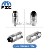 new products 2016 Ijoy Tornado RDTA 300watt High atomizer with 5ML Two Post Deck bulk buy from china