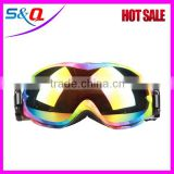 Factory New style ski safety goggles UV400 snow googles sport snow ski glasses
