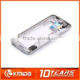 Original For S5 Housing For Samsung Galaxy S5 Cover Front Housing Middle Plate Bezel Back Door