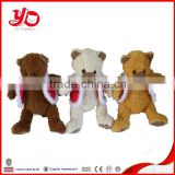 China factory direct sale custom made voice recorder plush toys teddy bear