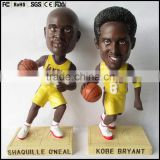 Plastic basketball player Model, make mind personal bobble figurine