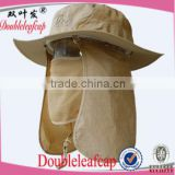 Hottest Sell Outdoor Sunscreen Hat Removable Face Neck Flap Fishing Cap