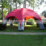 Durable advertising inflatable tent, giant inflatable dome tent, inflatable spider tent for sale