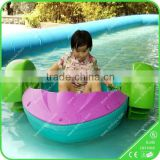 Top grade cheap water park equipment pedal boat for sale