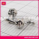 Novelty cufflinks knot cufflinks