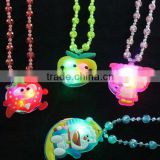 Wholesale Children Kids LED Light Up Flashing Necklace Pendants                                                                         Quality Choice