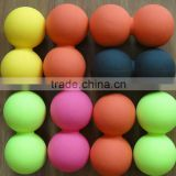Deep tissue release silicone massaging balls small qty wholesale,small rubber massage balls