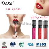 Private label 25 shades waterproof lip plumping gloss with factory price