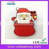 usb pendrives christmas 2014 new promotion Santa Clause usb flash drive 128MB to 64GB