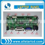 PCB controller board for lcd screen with VGA HDMI DVI connector