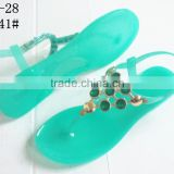 2015 wholesale beautiful ladies shoes crystal sandals shoes for women in China shoe city