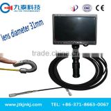 Push Rod Video CCTV Pipe Pipeline Air Duct Inspection Camera For Sale With 60M Cable GT-31D