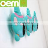 custom made strong bathroom soft silicone magic hook suction cup hook reusable eco-friendly hook
