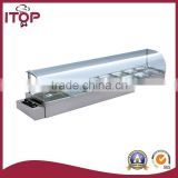 restaurant glass electric bain marie cooking equipment food warmer