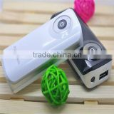 Best price 5000MAH Light external battery Portable power for iphone for Andriod cell phone