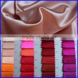 wholesale color chart thick italian cotton silk satin fabric