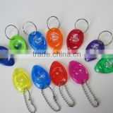HEYU plastic lottery scratcher key chain with a split ring