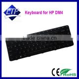 100% new laptop keyboard for HP Pavilion dm4 dm4-1000 keyboard layout