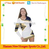 2014 cheap wholesale sublimation cheer uniforms ,girls cheer dance costumes