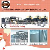 Electricity saving 7 layers air bubble wrap film making machine make foil laminating