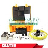 Waterproof Drainage Pipeline and Wall Inspection Camera with Meter Counter and Mini Keyboard 710DNKC