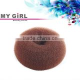 MY GIRL hair bun for women high quality BIG HAIR BUN RING DONUT SHAPER HAIR STYLER BLONDE/BROWN/BLACK chignon hair pieces bun