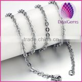 Wholesale stainless steel rolo chain necklace
