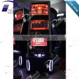 slot machine with life of luxury game board