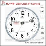Digital wall desk clock wifi 1080P Remote real-time Control Network radio Camera Module alarm hidden Camera Wifi clock