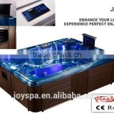 Reversible Drain Location and Combo Massage (Air & Whirlpool) Massage Type Luxury spa equipement TV whirlpool spa pool