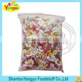 Halal colorful fruity flavor bone moon star shape tablet candy