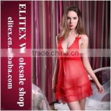 2015 wholesale hot fashion lace sexy adult girl babydoll open dress