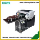 T-shirt Flatbed printer (a2 size) HZ-T2A /garment printing machine