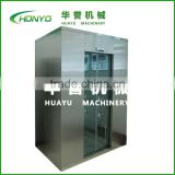 Automatic clean room air shower