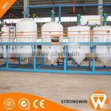 New small factory use soya bean oil refining plant price