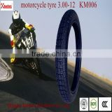 Motorcycle Tyre and tube 3.00-12,KM006,4PR/6PR,Motorcycle tire,Tricycle Tire,Motor Vehicle tire,Motor tyre