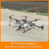 long spraying distance flying quadcopter unmanned sprayers, remote control helicopter with large spraying are