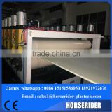 PVC foam plate making machine/plastic machinery/plastic extruder