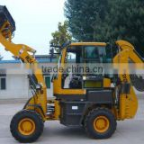 good factory backhoe telescopic loaders/wheel loader with back spoon